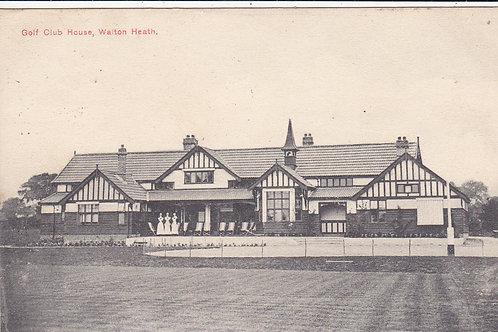 Walton Heath Golf Club House Ref.491 C.1906