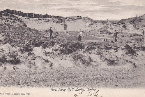Aberdovey Golf Links,Gwynedd.Ref 353. C.1906