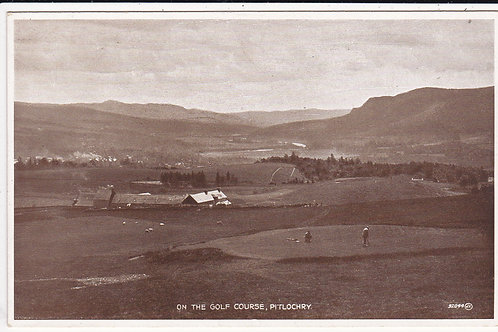 Pitlochry Golf Course.Perth.Ref 054  C.1920s