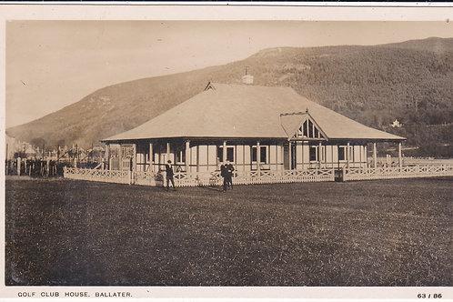 Ballater Golf House Ref 540 C.Pre 1914