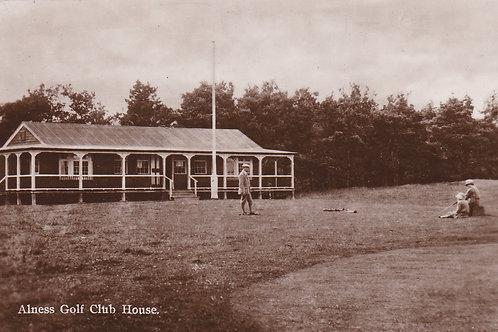 Alness Golf Pavilion Ref.1823 C.1910-20?