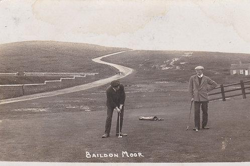 Baildon Moor Golf Links,West Yorks.Ref.804.C.1910