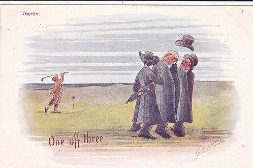 Comic Golf PC by Cynicus Ref.1318 C.1902-04
