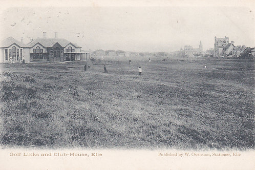 Elie Golf House Club,Fife.Ref 117.C.1903