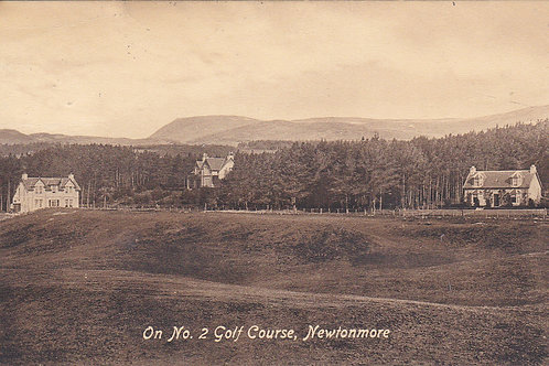 Newtonmore Golf Course Ref.1725 C.1919