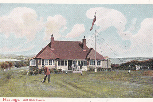 Hastings Golf Pavilion,Sussex.Ref 417. C.1914-18 ?