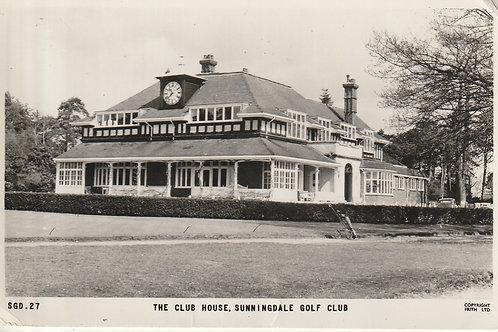 Sunningdale Golf Club House Ref.1343a C.1963