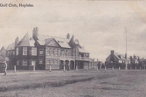 Hoylake Golf Club House Ref.2260a C.Pre 1910