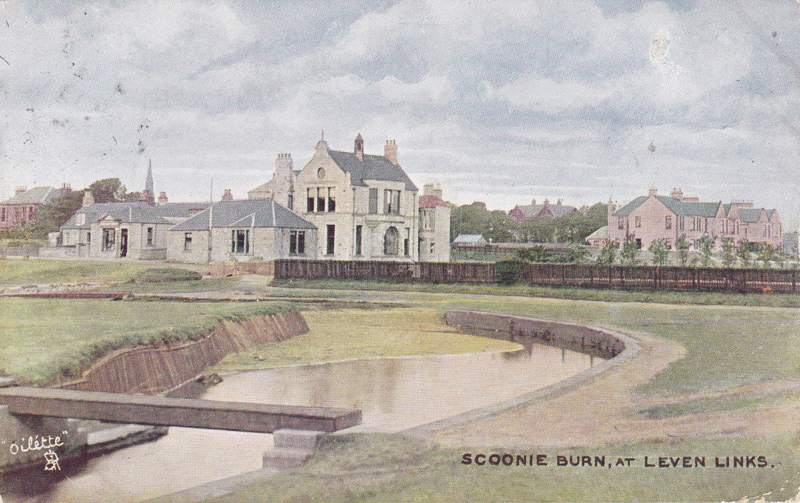 Scoonie Burn at Leven Links