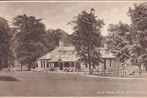 Crieff Golf Club House Ref.1188 C. 1910-25