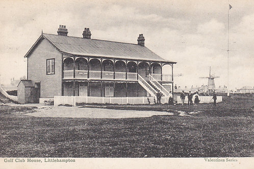 Littlehampton Golf Club House,Ref 802. C.1905