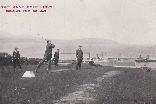 SOLD>Ref.1792.Fort Anne Golf Links I.O.M Ref.1792 C.1907