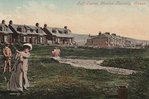 Girvan Golf Links Ref.2542 C.pre 1908
