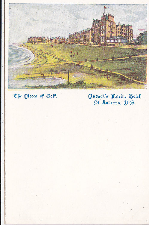 St.Andrews The Mecca of Golf.Ref.408 C.Early 1905