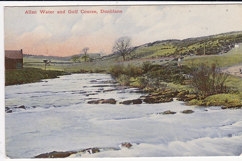 Dunblane Golf Course & Alan Water Ref 979 C.1915