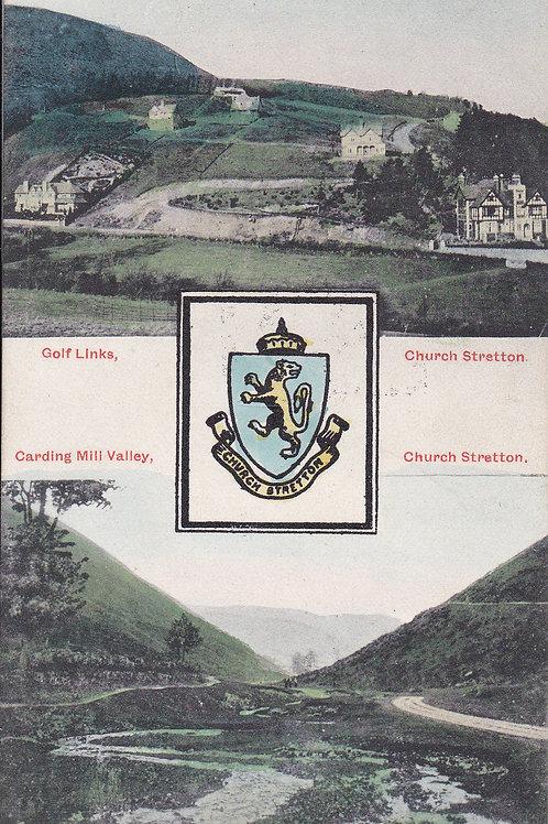 SOLD>Ref.1687.Church Stretton Golf Links Ref.1687 C.1910s ?