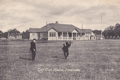 SOLD>Ref.780.Inverness Golf Links & Ref.780.Club House C.1918