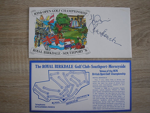 1976 British Open Comm.C Signed Ref.111 C.1975