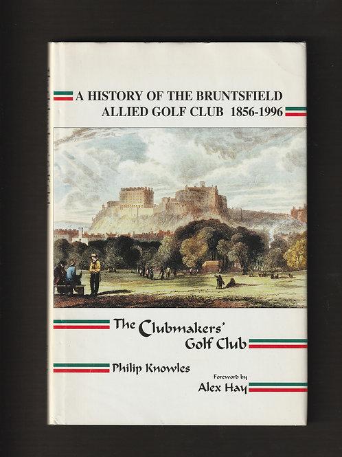 Bruntsfield Allied Golf Club History Ref.901. GB.1996