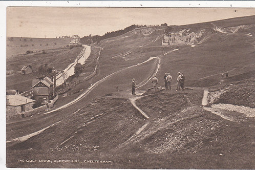 SOLD>Ref.1258.Cleeve Hill Golf Links,Ref 1258 C.Early 1900s