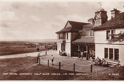 Dornoch Golf Club House Ref.1960 C.1930s