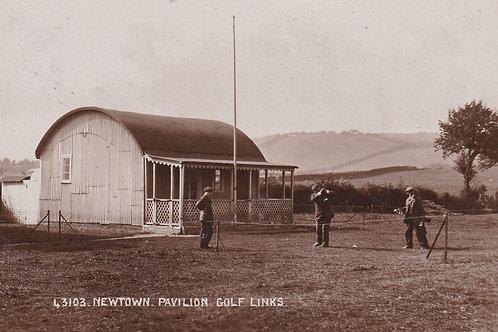 SOLD>2042a .Newtown Golf Pavilion/Links  Ref.2042a C.Ea 1900s