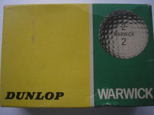 6 Warwick 1.62 Golf Balls Boxed Ref.223 C.1976-78