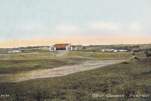 Powfoot Golf Links,Dumfriesshire.Ref.169 C.1903-10