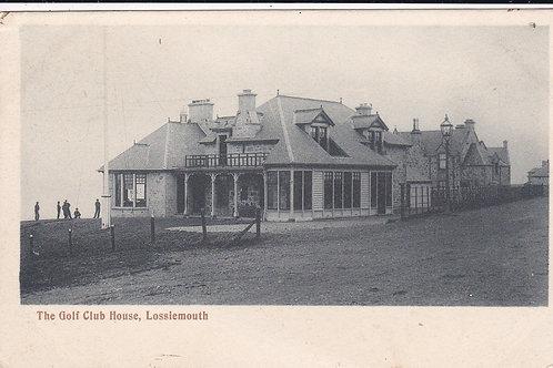 Lossiemouth (Moray) Golf House Ref.1496 C.1903