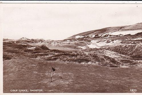 Saunton Golf Links Ref.1059 C.1949