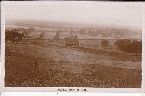 Alloa Golf Course & Club House Ref.1677 C.Ea 1900s
