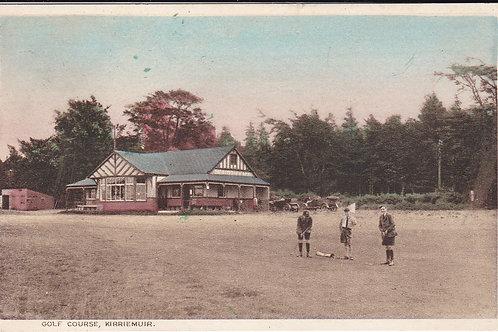 Kirriemuir Links & Club House Ref.1705 C.1927