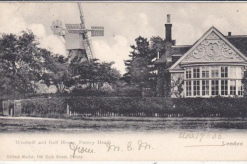 Putney Heath Golf Course Ref 472 C.1905