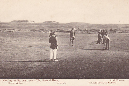 St.Andrews Old Course,Golfing At,Ref.684C.1905 Ref.684 C.1902-05