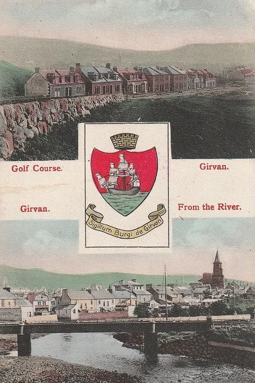 Girvan Golf Links Ref.2576 C. pre 1910