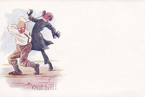 Comic Golf PC Cynicus Ref.1954 C.1903-05