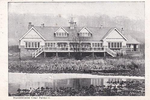 Handsworth Golf Club House Ref.2240a C.1912