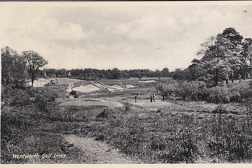 Wentworth Golf Course Ref.896 C.Ea 1900s