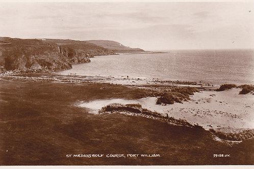St.Medan Golf Links,Port William.Ref 551. C.1920s