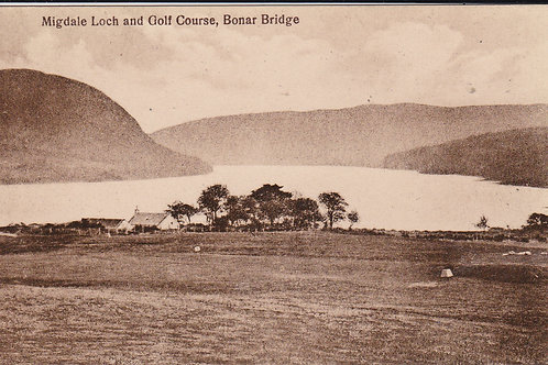 SOLD>Ref.1680.Bonar Bridge Golf Course Ref.1680 C.1915-30