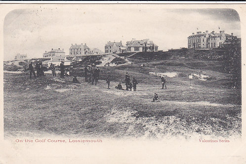 Lossiemouth Golf Links Ref.1240 C.1905-09
