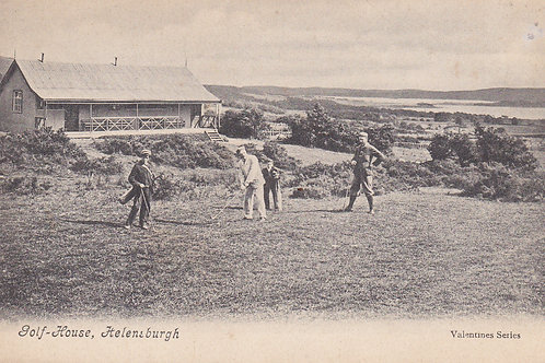 Helensburgh Golf Pavilion/1st Tee.Ref 861 Pre 1910 C.Pre 1910