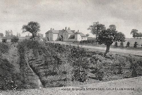 Bishop's Stortford Golf House Ref.2349 C.Pre 1914