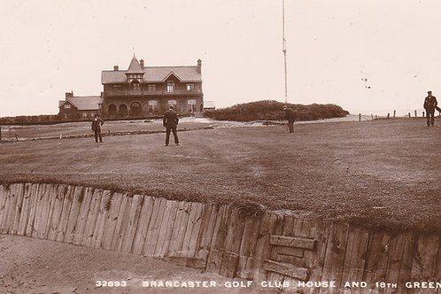 Brancaster Golf House,18th Green Ref 768.C.1913