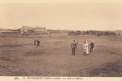Le Touquet La Foret Golf Links Ref.879 C1914-20
