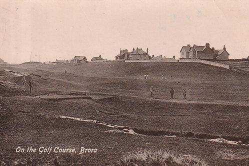 Brora Golf Links, Highlands Ref.2685 C.ea1900s