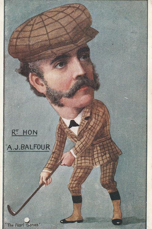 A.J.Balfour, Prime Minister 1902-05 Ref.2480 C.1905