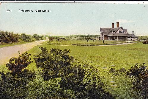 Aldeburgh Golf Links,Norfolk Ref.1004 C.Pre 1918