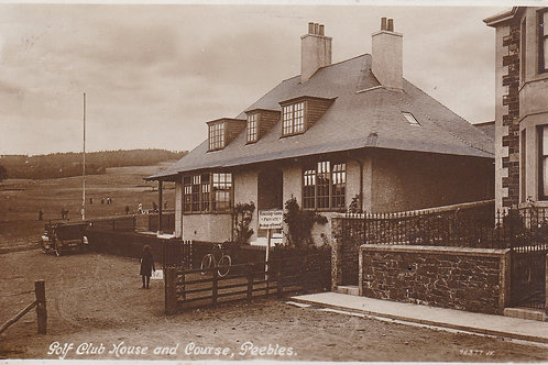 SOLD>Ref.958.Peebles Golf House & Links Ref 958 C.1914