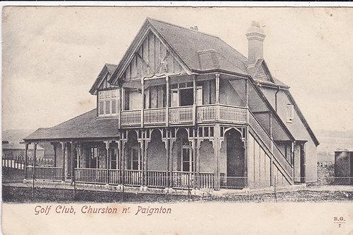 Churston Golf House,Devon Ref 1178 C.1908